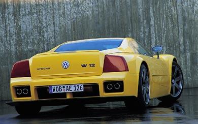 1997 Volkswagen W12 Syncro Concept wallpaper thumbnail.
