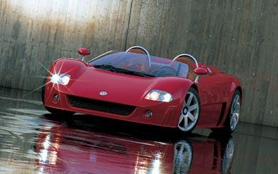 1998 Volkswagen W12 Roadster Concept wallpaper thumbnail.