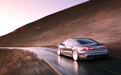 2008 Volkswagen CC wallpaper thumbnail.