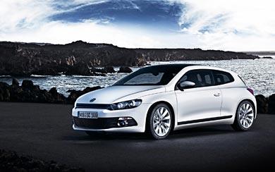 2008 Volkswagen Scirocco wallpaper thumbnail.