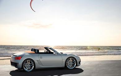 2009 Volkswagen Concept BlueSport wallpaper thumbnail.