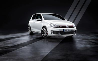 2009 Volkswagen Golf GTI wallpaper thumbnail.