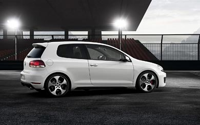 2009 Volkswagen Golf GTI Design Study wallpaper thumbnail.