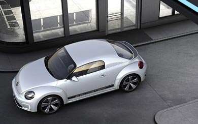 2012 Volkswagen E-Bugster Concept wallpaper thumbnail.