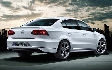2012 Volkswagen Passat R-Line wallpaper thumbnail.