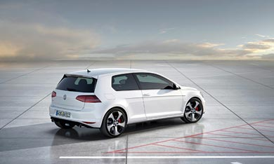 2013 Volkswagen Golf GTI Concept wallpaper thumbnail.
