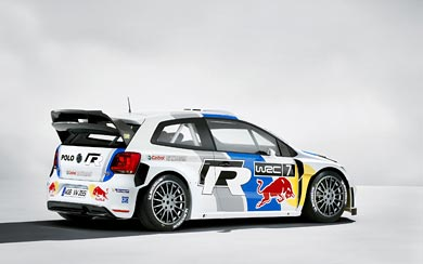 2013 Volkswagen Polo R WRC wallpaper thumbnail.