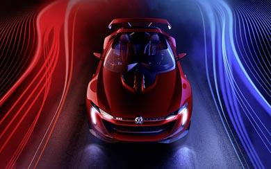 2014 Volkswagen GTI Roadster Concept wallpaper thumbnail.