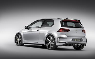2014 Volkswagen Golf R 400 Concept wallpaper thumbnail.