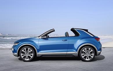 2014 Volkswagen T-Roc Concept wallpaper thumbnail.