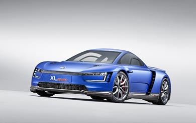 2014 Volkswagen XL Sport Concept wallpaper thumbnail.