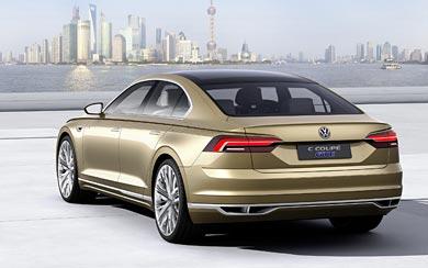2015 Volkswagen C Coupe GTE Concept wallpaper thumbnail.