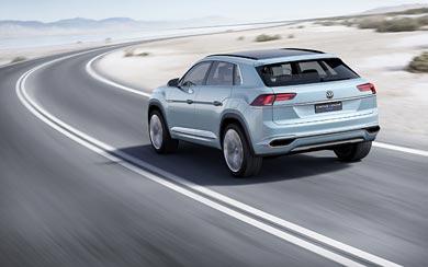 2015 Volkswagen Cross Coupe GTE Concept wallpaper thumbnail.