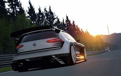 2015 Volkswagen GTI Supersport Vision Gran Turismo Concept wallpaper thumbnail.