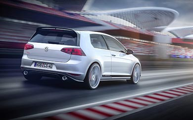 2015 Volkswagen Golf GTI Clubsport Concept wallpaper thumbnail.