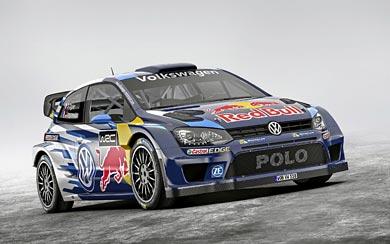 2015 Volkswagen Polo R WRC wallpaper thumbnail.