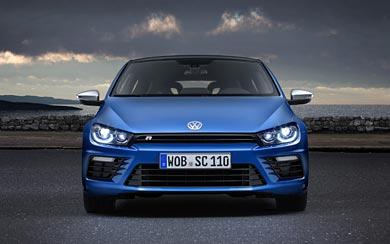 2015 Volkswagen Scirocco R wallpaper thumbnail.