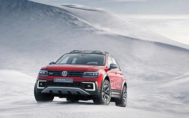 2016 Volkswagen Tiguan GTE Active Concept wallpaper thumbnail.