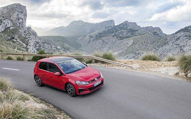 2017 Volkswagen Golf GTI wallpaper thumbnail.