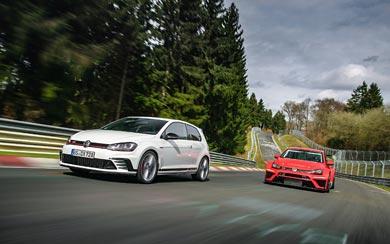 2017 Volkswagen Golf GTI Clubsport S wallpaper thumbnail.