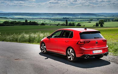 2021 Volkswagen Golf GTI wallpaper thumbnail.