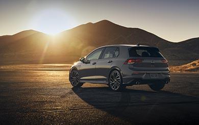 2021 Volkswagen Golf GTI wallpaper thumbnail.