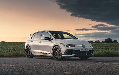 2021 Volkswagen Golf GTI Clubsport 45 wallpaper thumbnail.
