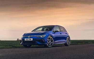 2022 Volkswagen Golf R wallpaper thumbnail.