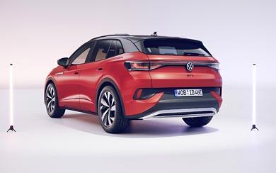 2022 Volkswagen ID.4 GTX wallpaper thumbnail.