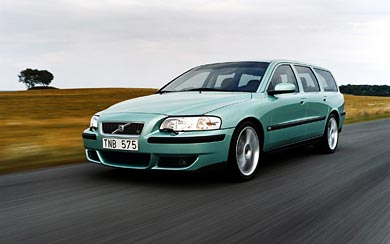 2003 Volvo V70 R wallpaper thumbnail.