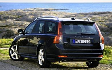 2008 Volvo V50 R-Design wallpaper thumbnail.