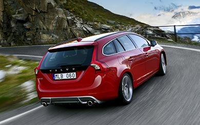 2011 Volvo V60 R-Design wallpaper thumbnail.