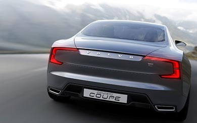 2013 Volvo Coupe Concept wallpaper thumbnail.