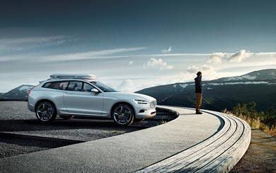 2014 Volvo XC Coupe Concept wallpaper thumbnail.