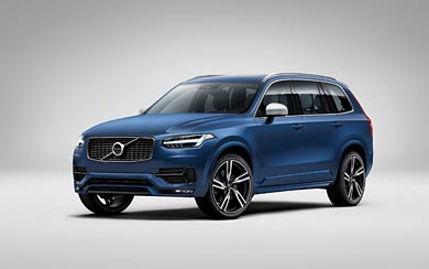 2015 Volvo XC90 R-Design wallpaper thumbnail.