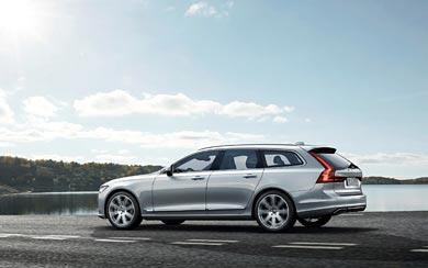 2017 Volvo V90 Estate wallpaper thumbnail.
