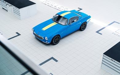 2020 Volvo P1800 Cyan wallpaper thumbnail.