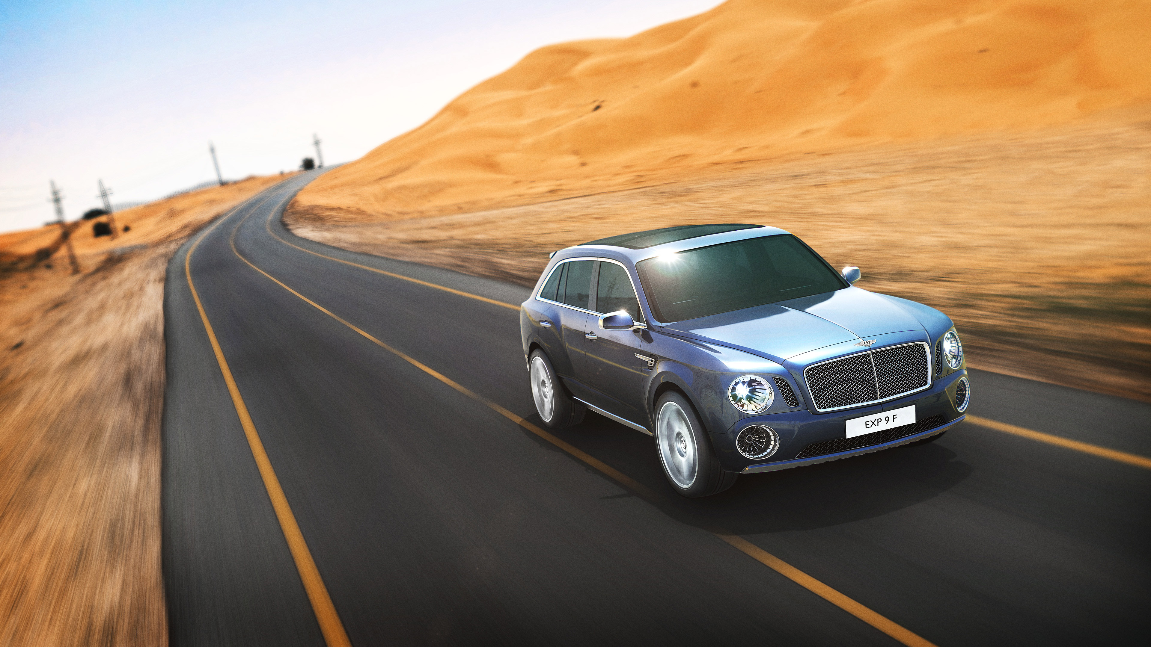 2012 Bentley EXP 9 F Concept Wallpaper.