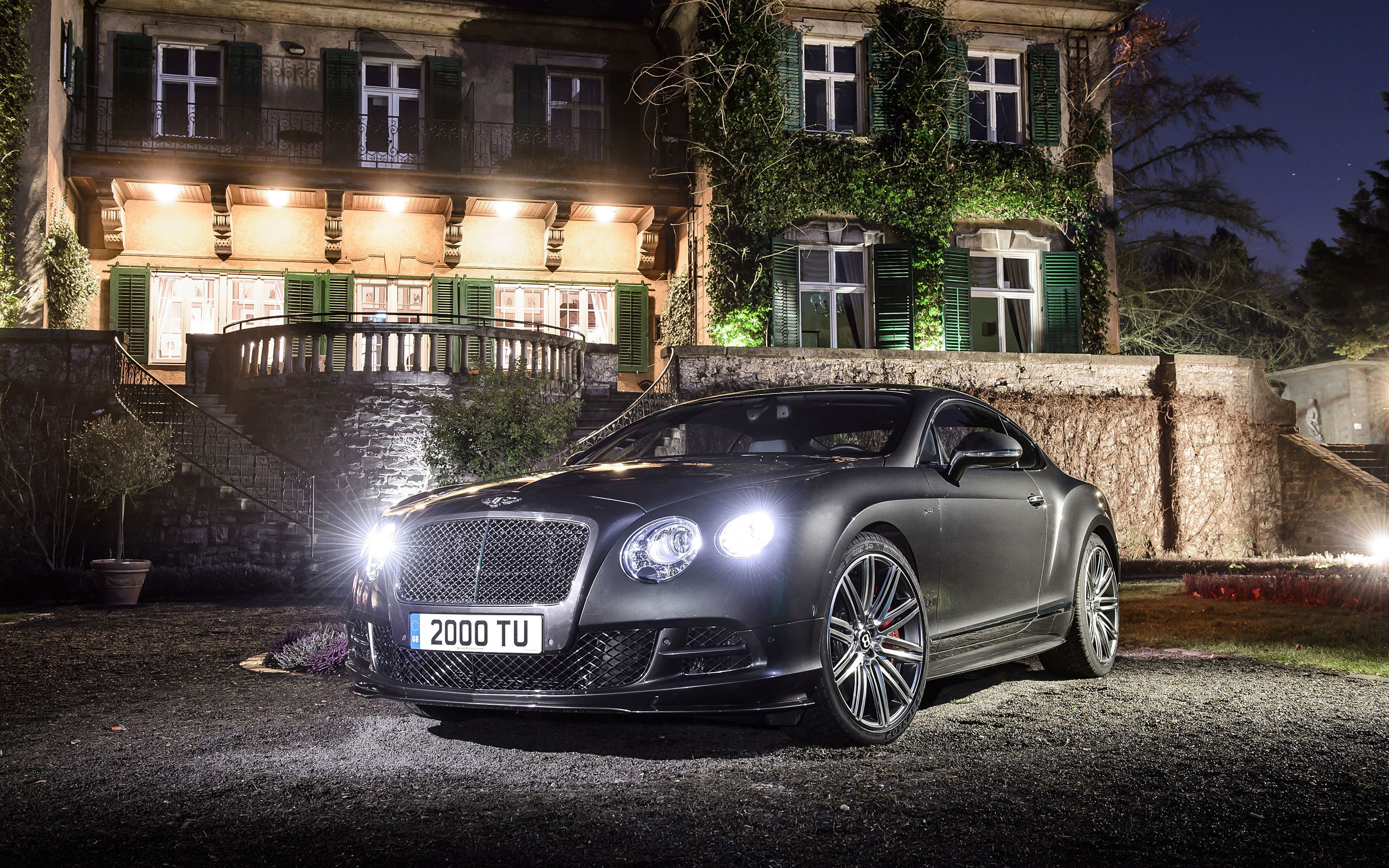 2015 Bentley Continental GT Speed Wallpaper.