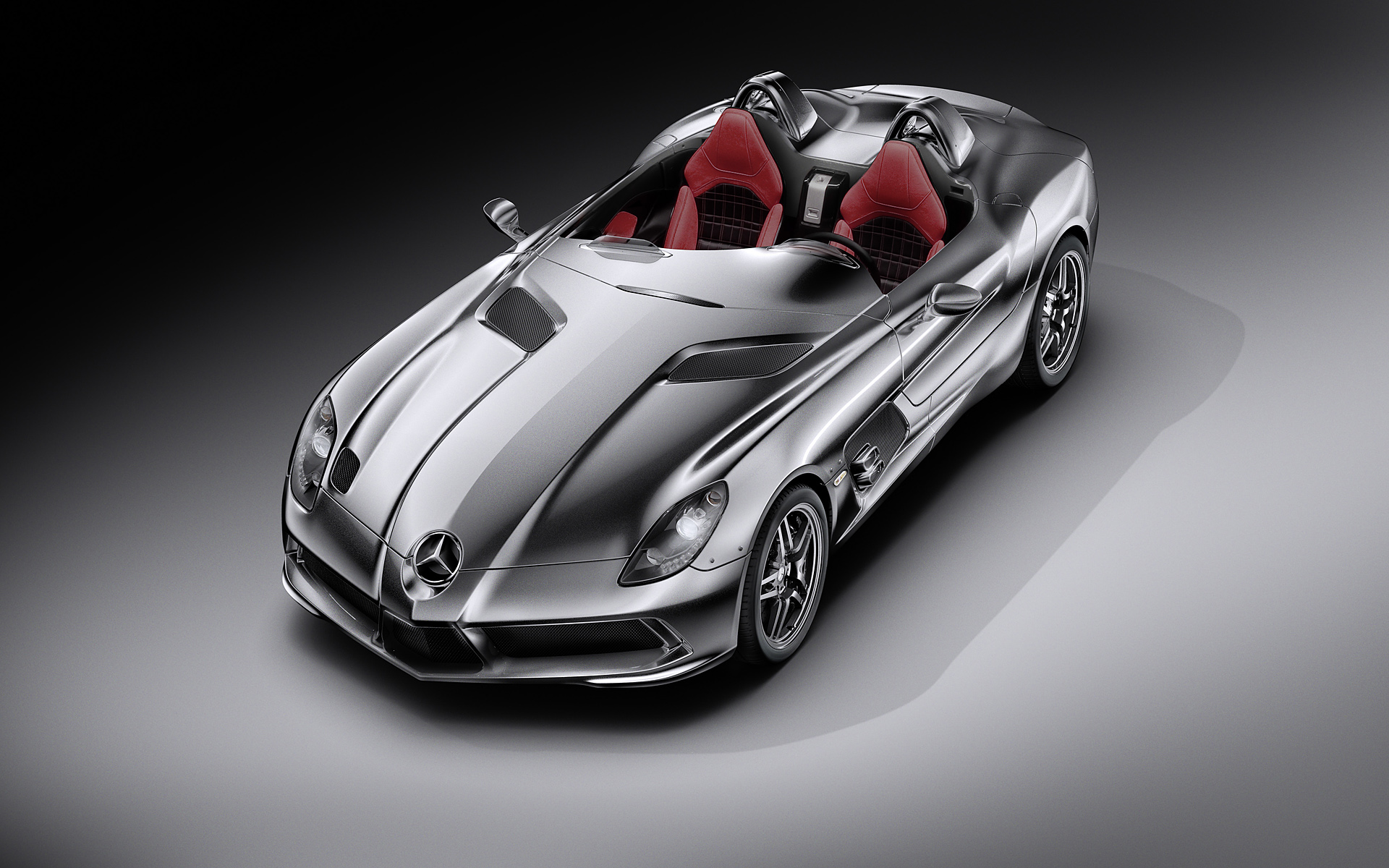 2009 Mercedes-Benz McLaren SLR Stirling Moss Wallpaper.