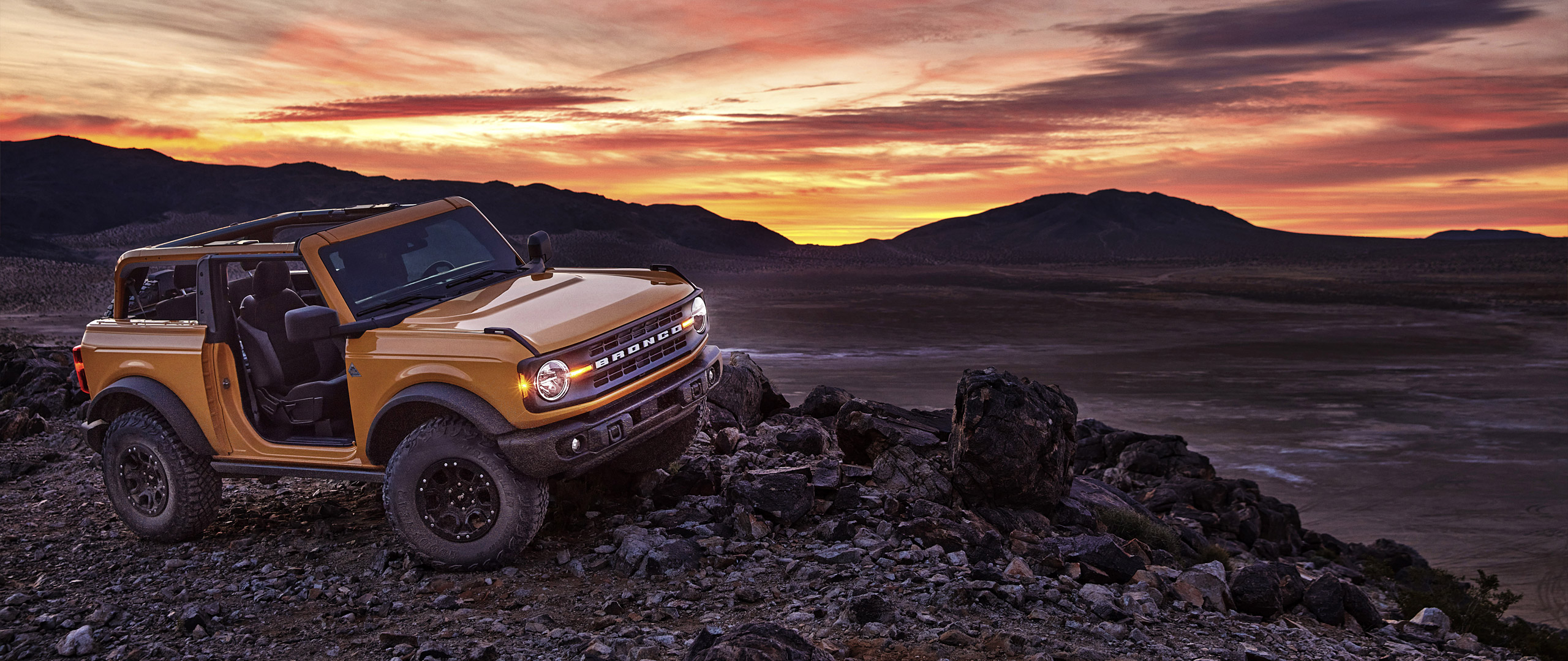 2021 Ford Bronco Wallpaper.