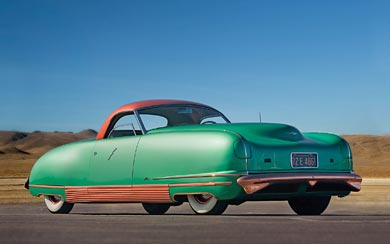 1940 Chrysler Thunderbolt Concept wallpaper thumbnail.