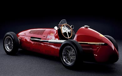 1948 Maserati 4CLT wallpaper thumbnail.