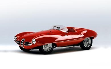 1952 Alfa Romeo Disco Volante Touring wallpaper thumbnail.