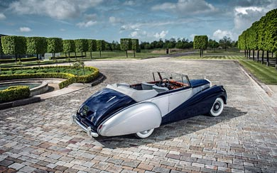 1952 Rolls-Royce Silver Dawn Drophead wallpaper thumbnail.