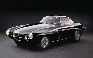 1954 Fiat 8V Supersonic Coupe wallpaper thumbnail.