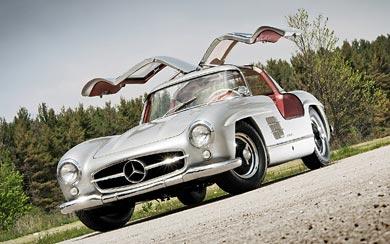 1954 Mercedes-Benz 300 SL Gullwing wallpaper thumbnail.