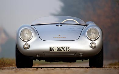 1954 Porsche 550 Spyder wallpaper thumbnail.
