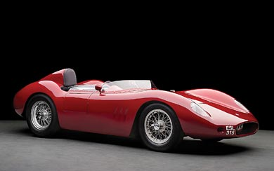 1955 Maserati 250S wallpaper thumbnail.