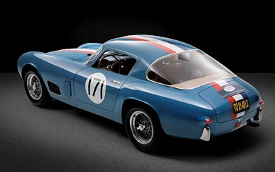 1956 Ferrari 250 GT Berlinetta Tour de France wallpaper thumbnail.